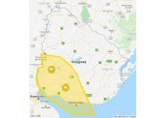 01.09.2021 Alerta amarilla por tormentas fuertes y lluvias intensas