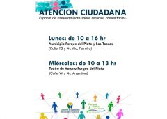 01.09.2021 Atención Ciudadana en Parque del Plata